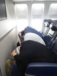 cabin crew training brace position for an emergency my old