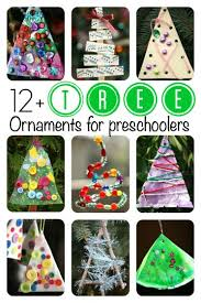 tree ornaments for toddlers and preschoolers to make