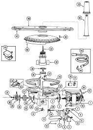 kenmore dishwasher parts diagram 665 whirlpool dishwasher parts