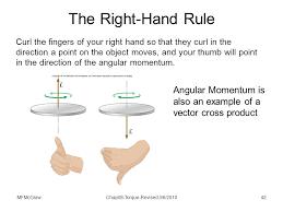 torque and angular momentum ppt