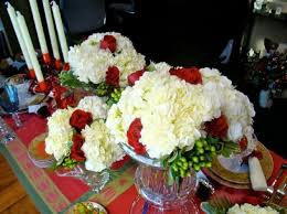 Live Christmas Centerpieces - affordable christmas flower centerpiece ideas from michael gaffney