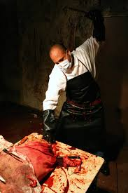 Butcher Halloween Costume Props Rent U0026 Portfolio Butcher Shop U0026 Meat Locker