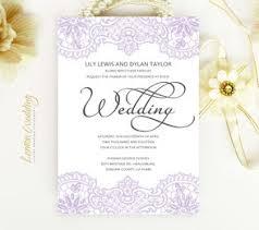 Purple And White Wedding Purple Wedding Invitations Lemonwedding