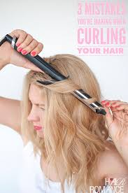 best curling wands for thick hair 3 simple mistakes you re making when curling your hair and how to