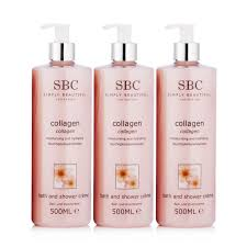 sbc qvc uk sbc favourites bath and shower trio 500ml 230831