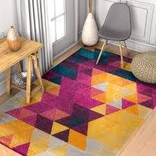 Modern Colorful Rugs Eclectic Rugs Well Woven