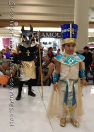 Anubis Halloween Costume Anubis Nefertiti Couple Costume