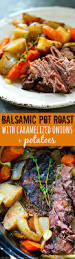 Balsamic Roast Beef In Oven Balsamic Pot Roast With Caramelized Onions Potatoes