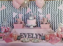 1st birthday pink elephant candy table tablescapes and dessert
