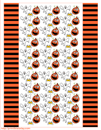 free printable halloween candy wrappers