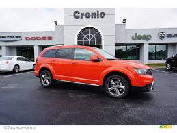dodge crossroad 2017 2017 blood orange dodge journey crossroad 122023511 gtcarlot