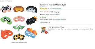 passover plague masks things on 30 items you can actually buy