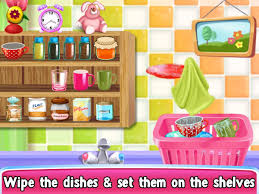Kitchen Princess Princess Doll Kitchen Cleaning Android Apps On Google Play