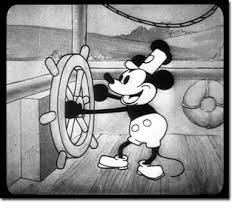 mickey mouse follies black white steamboat willie november