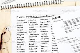 resume verb list  The Engineer     s Companion Job Hunting Conventional Wisdom FAQ    Part     resume