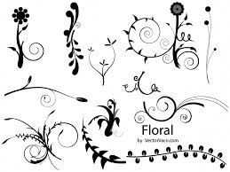 free graphics floral set vector ai eps free graphics