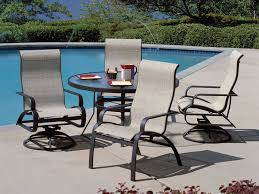 48 Round Patio Table by Winston Obscure Glass Aluminum 48 U0027 U0027 Round Dining Table With