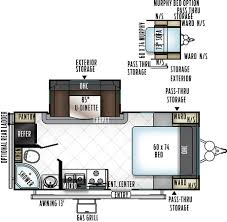 rockwood trailers floor plans new 2018 rockwood mini lite 21 u0027 2104s rockwood mini lite new