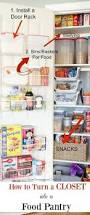 creating an organized pantry from a hall closet vinyls