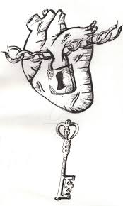 lock and key heart tattoo design by vincent is mine on deviantart