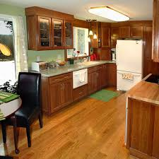 Wood Floor In Kitchen by Red Oak Wide Plank Flooring Hull Forest Products