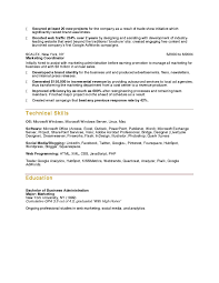 Sales Marketing Resume Sample by Social Media Specialist Resume Sample Resume Cover Letter Template