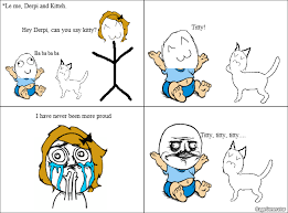 Meme Cartoon Generator - babys first word funny pinterest rage comics meme list and