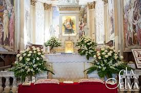 Church Decorations For Wedding Catholic Wedding On Lake Orta