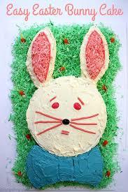 easter bunny cake ideas easy easter bunny cake cincyshopper