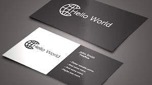 cards business templates free download word professional samples