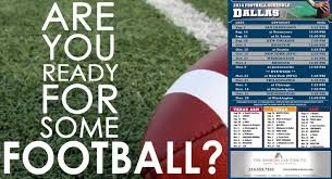 free dallas cowboys football schedule magnet get them while