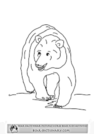grizzly bear coloring pages horace u0027s fave grizzly bear coloring book