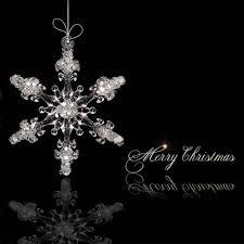 aliexpress buy 4 5cm 24pcs acrylic snowflake 3d solid