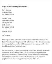 resignation letter due to pregnancychildcare resignation letter