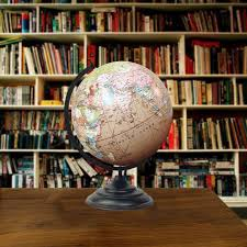 world globe home decor big decorative rotating globe pink ocean world geography earth