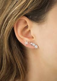 second earrings ear climbers the edgy trend we re embracing for 2015 tapper s