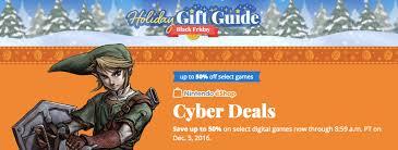best black friday deals 2016 games nintendo eshop black friday deals dozens of wii u and 3ds games