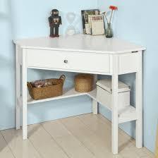 Walmart White Corner Desk Haotian Fwt31 W White Corner Desk Triangle Table Desk With