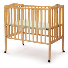 Fold Away Furniture by Delta Children Folding Portable Crib With Mattress Walmart Com