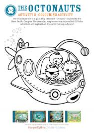 octonauts colouring scholastic kids u0027 club