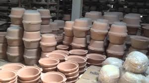Pots For Sale Visit To A Clay Pot Making Factory Clay Craft Malaysia Youtube