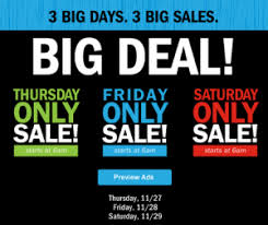 sneak peek ad preview thanksgiving day black friday saturday sale