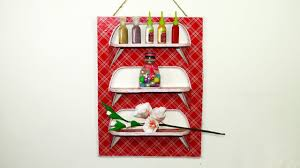 mini wall organizer from waste cardboard waste material craft