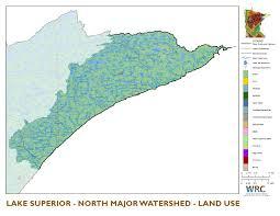 Lake Superior Map Lake Superior Watershed North Minnesota Nutrient Data Portal