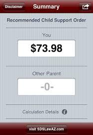 arizona child support calculator by law offices of scott david stewart