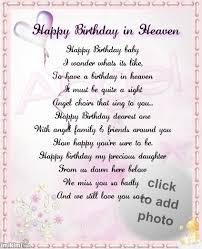 happy birthday in heaven quote sympathy pinterest