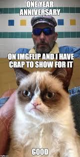 Grumpy Cat Meme Good - one year anniversary grumpy cat memes pinterest anniversaries
