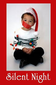 funny christmas card silent night pics for christmas cards