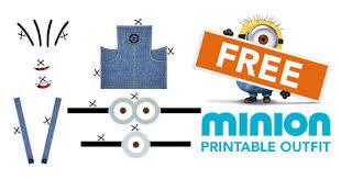 printable minion