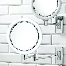 Magnifying Bathroom Mirror Wall Mounted Bath Mirror Plantbasedsolutions Co